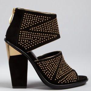 Dolce Vita studded sandals Nita high heel gold